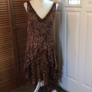 Chetta B sequined dress NWT
